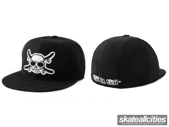 Skate All Cities x SAIKO Fitted Caps (BACK IN STOCK) – SKATE ALL CITIES 00930f76ec7